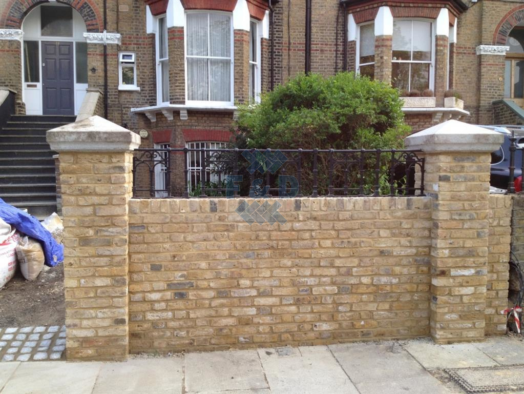 Fence Installations Bournemouth Brick Layer Garden Fencing